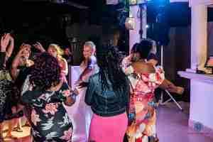 dancing in Paamul Playa del Carmen