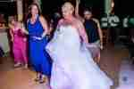dancing in Weeding at Paamul Playa del Carmen